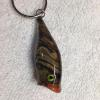 air brushed key chain fishing lure
