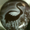 airbrushed flamingo
