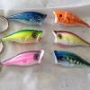 fishing lures air brushed keychains